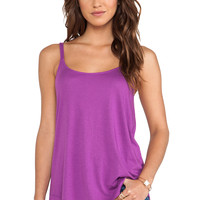 Splendid Very Light Jersey Tank in Purple