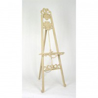 Wayborn Gallery Easel in Antique White - 4530E - Decor