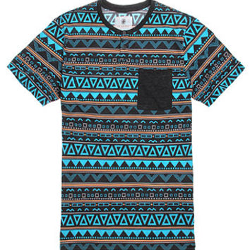 On The Byas Hans Printed Henley T-Shirt at PacSun.com