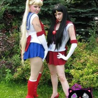 Sailor Scout Sailor Moon Senshi Cosplay Costume by Ridikitty
