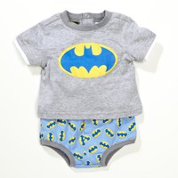 Franco Apparel Baby-boys Newborn Batman Diaper Set