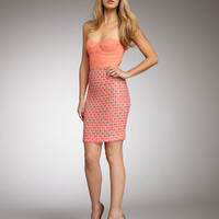 Alice + Olivia Elena Strapless Dress - Neiman Marcus
