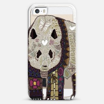 chocolate panda transparent iPhone 5s case by Sharon Turner | Casetify