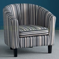 World Furniture - World Furniture Oxford Fabric Tub Chair