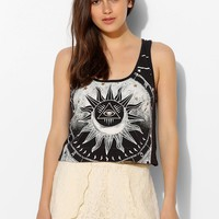 Title Unknown La Lune Cropped Tank Top - Urban Outfitters