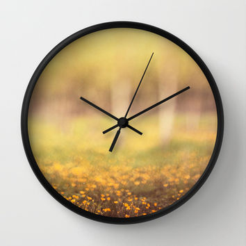 April moods Wall Clock by DejaReve