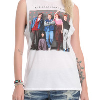 The Breakfast Club Lockers Girls Muscle Tee