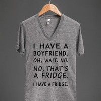 boyfriend fridge v neck tee - Totes Adorbs Tees - Skreened T-shirts, Organic Shirts, Hoodies, Kids Tees, Baby One-Pieces and Tote Bags
