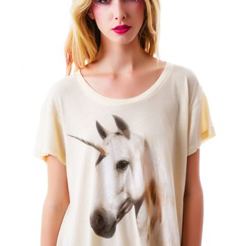 Unicorn Dream Lazy Weekend Tee