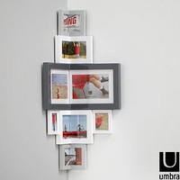 Umbra Empire Inside Corner Frame - Smart Corner Photo Frame by Umbra