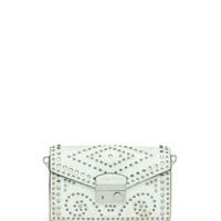 Prada Vintage Vitello Sound Bag, White (Bianco)