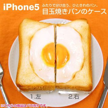 Food Sample iPhone 5 Case (Bread with Egg/Right)
