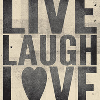 Live Laugh Love Print 8 x 10 by amycnelson on Etsy
