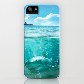 Blue iPhone & iPod Case by SensualPatterns