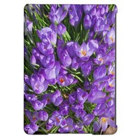 Beautiful Purple crocus iPad Air Case