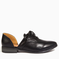 Cut It Out Oxford Shoes $36