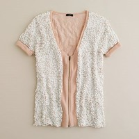 Women's new arrivals - sweaters - Sequin mist cardigan - J.Crew