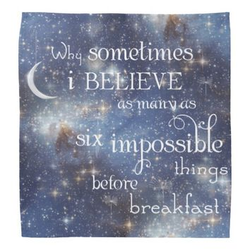 Impossible Things Stars Bandana
