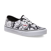 Vans Digi Roses Authentic (black/true white)