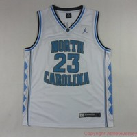 Michael Jordan 23 North Carolina NBA Basketball Jersey Michael Jordan North Carolina