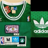 Larry Bird 33 Boston Celtics 1987-1988 NBA Basketball Jersey Larry Bird Boston Celtics