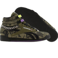 Reebok Womens Freestyle High ( green / black / purple) - Shoes - 2-711192 | PickYourShoes.com