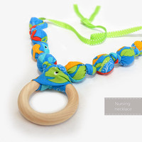 Nursing Necklace - Teething Necklace - Breastfeeding Necklace -Nursing Necklaces - Mom Necklace - Teething Beads - Teething Jewelry
