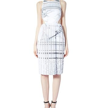 Etched Marble Dress