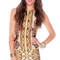 Medallion Dress in Multi :: tobi