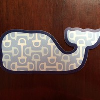 Kentucky Derby Vineyard vines whale horse bit sticker limited edition rare