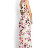 Fantasy Floral Maxi Dress