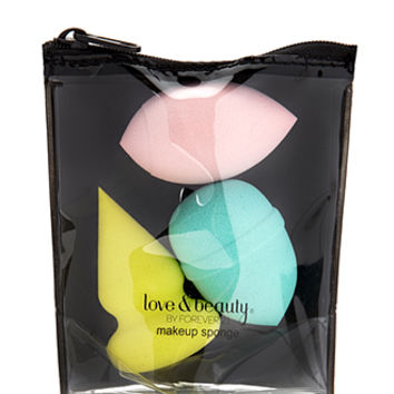 Geo Make-Up Sponge Set