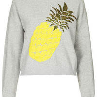 PINEAPPLE MOTIF JUMPER