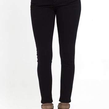 Glam Crop Skinny Jeans in Focus
