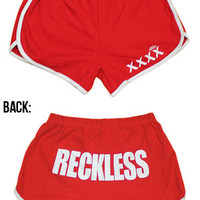 Reckless Shorts (Red)