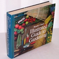 Readers Digest Illustrated Guide to Gardening 1990 Book