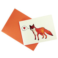 You're A Fox // Animal illustration I Love by ThirdArrowForMyHeart