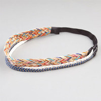 FULL TILT 3 Piece Braided Hemp Headbands