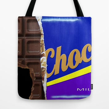 Chocolate Tote Bag by Nicklas Gustafsson