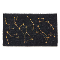 ModCloth Nifty Nerd Constellation Bias Doormat