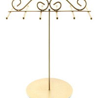 Grecian Gold Jewelry Stand