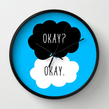 Okay Okay. The Fault in Our Stars Wall Clock by Janice Wong