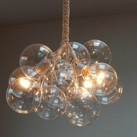 Bubble Chandelier Original Size by Jean Pelle by jeanpelle on Etsy