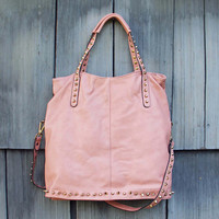 Honeysett Tote in Blush - Blush