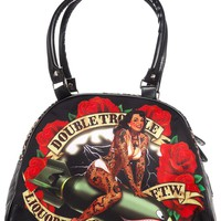 LIQUORBRAND DOUBLE TROUBLE BOWLING BAG