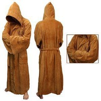Amazon.com: Star Wars Jedi Fleece Bathrobe: Clothing