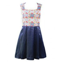 new arrival navy wind dress