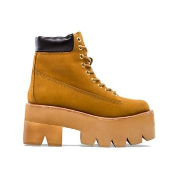 Jeffrey Campbell Nirvana Boot in Tan