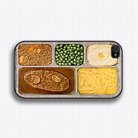 TV Dinner iPhone 4 Case iPhone 4s Case iPhone 4 by iCaseSeraSera