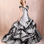 A-line Strapless black colour with sweep train cheap 2012 Agora wedding gowns BABG004 -Shop offer 2012 wedding dresses,prom dresses,party dresses for girls on sale. #Category#